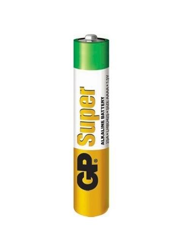GP Gp 25A Alkalin İncenin İncesi Pil Mn2500 E96 Renksiz